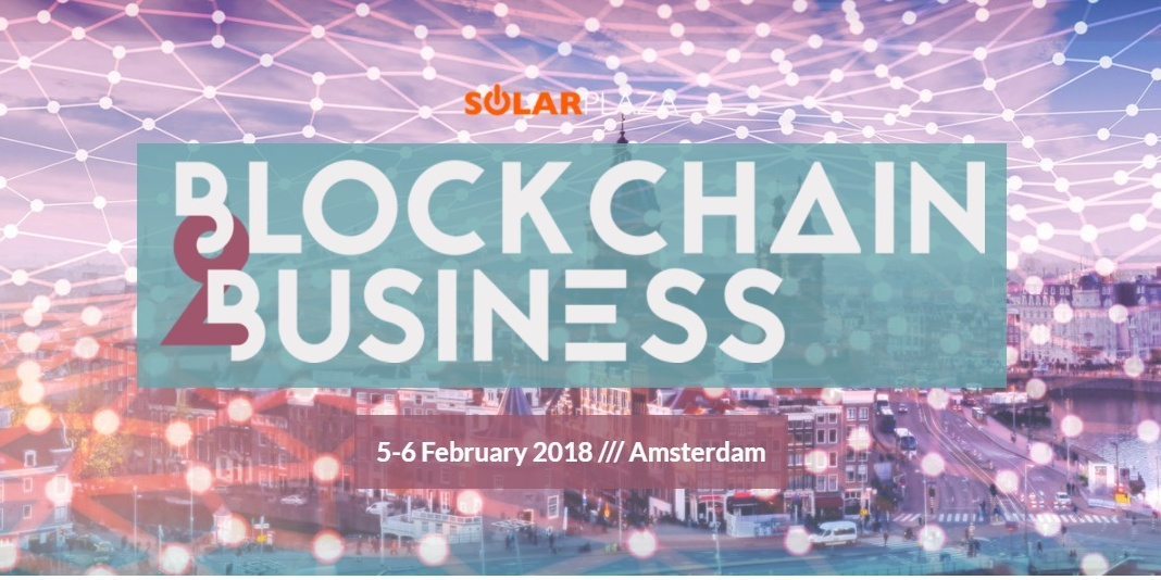 VPPlant takes parts in Blockchain2Business conference in Amsterdam