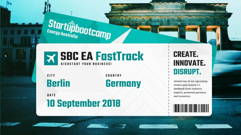 driv2e will take part in Startupbootcamp FastTrack in Berlin